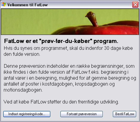 FatLow prøveversion
